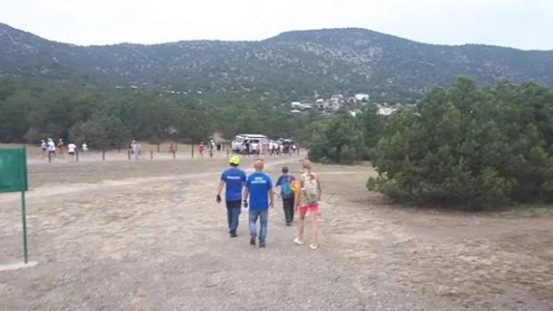 Крымские спасатели оказали помощь двум туристам в районе горы Коба-Кая, под Судаком