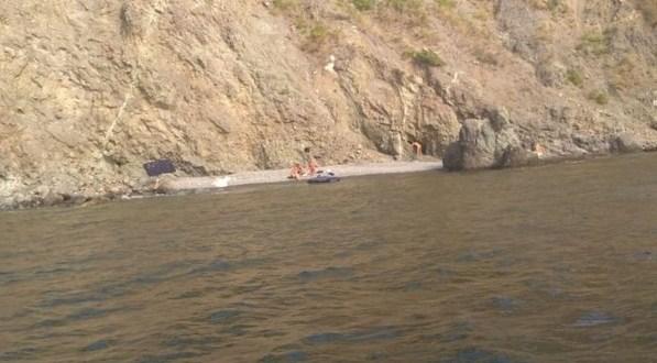 В открытом море, близ Балаклавы спасали каякеров