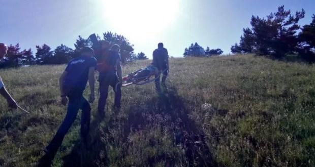 В Крыму спасали парапланериста – неудачно приземлился… на дерево