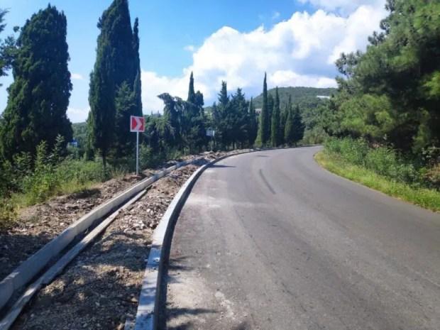 Как продвигается ремонт дорог Южного берега Крыма