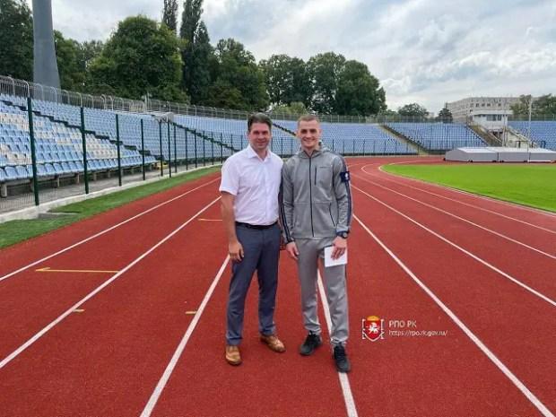 В Симферополе торжественно открыли обновленный стадион «Локомотив»