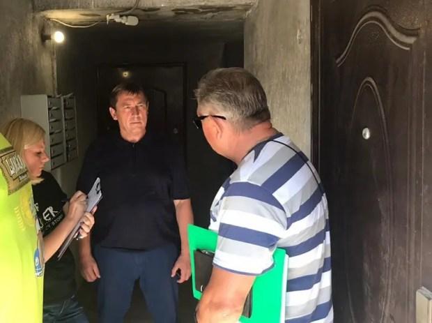 Юрий Гоцанюк проверил работу управляющих компаний в населённых пунктах Феодосии