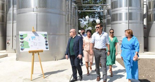 В Севастополе теперь есть высокотехнологичный комплекс первичного виноделия