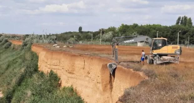 В районе с. Андреевка зачищен опасный склон