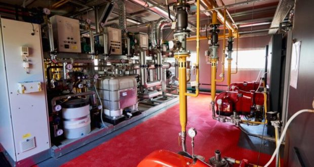 В Севастополе досрочно завершили строительство модульной газовой котельной
