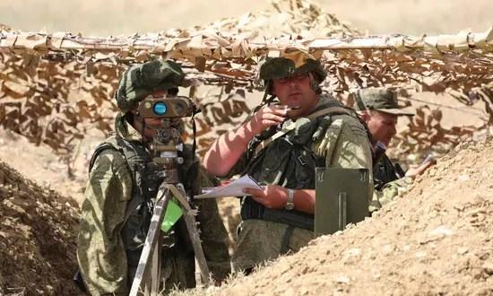 На полигонах в Крыму прошли учения армейского корпуса Черноморского флота