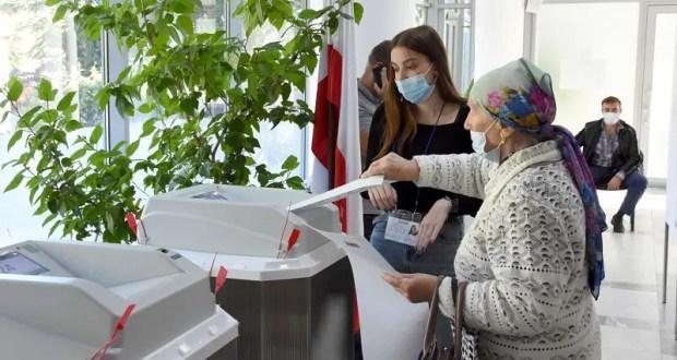 Некоторые цифры первого дня голосования в Крыму и Севастополе
