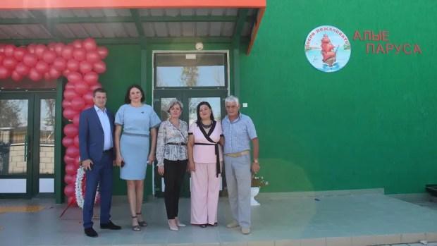 В крымском курортном селе Песчаное открылся новый детский сад на 140 мест