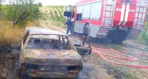 Автопожар в Бахчисарайском районе: сгорел ВАЗ