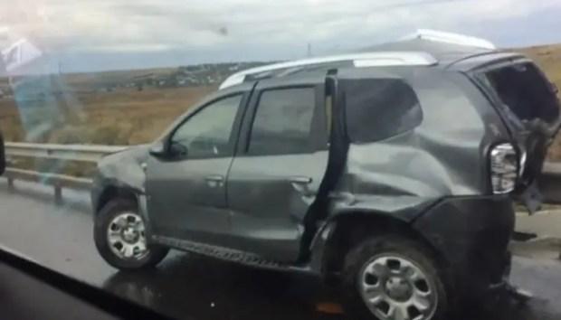 ДТП на трассе «Таврида» в Кировском районе - шестеро пострадавших