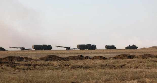 В Крыму началось учение с артиллерийскими подразделениями Черноморского флота