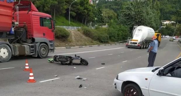 ДТП в Ялте: пострадал водитель мопеда