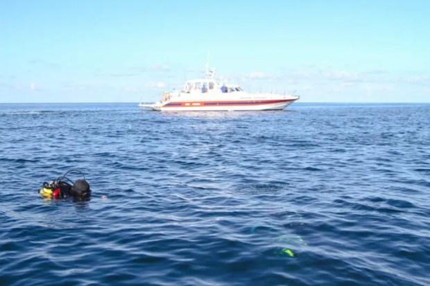 В Севастополе в день юбилея Спецотряда МЧС специалисты уничтожили под водой 4 бомбы