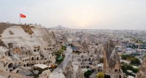 Где находится Каппадокия в Турции