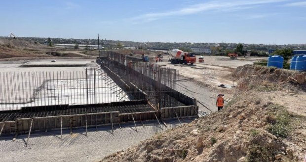 В Севастополе снова строят канализационные очистные сооружения «Южные»