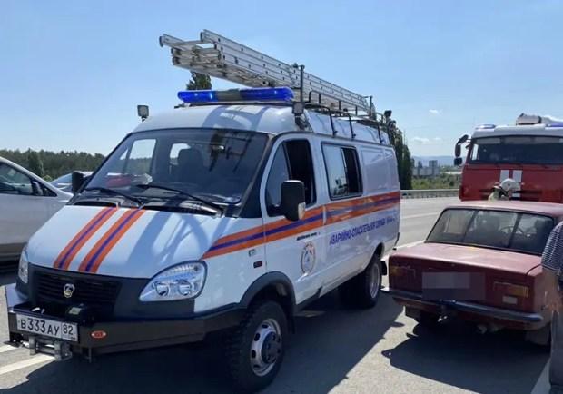 Дважды за минувшие сутки крымские спасатели ликвидировали последствия ДТП