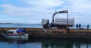 В акватории Феодосийской бухты продолжается разминирование теплохода «Жан Жоррес»