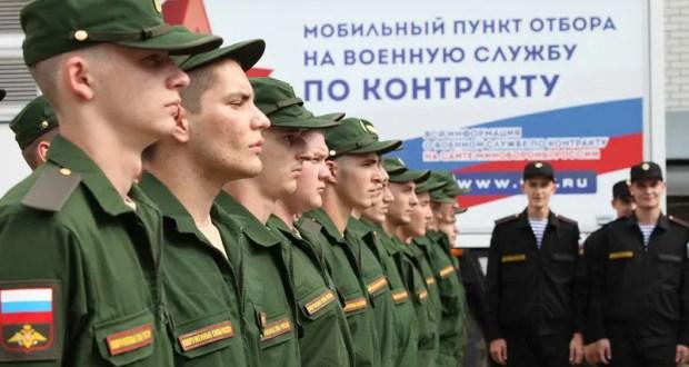 С начала года на службу по контракту в Вооруженные Силы России поступили более 500 крымчан