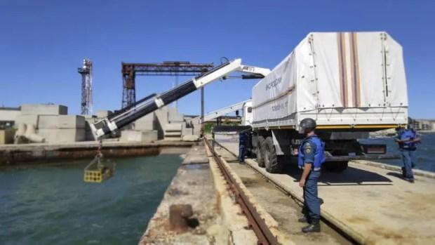 В Крыму продолжается разминирование теплохода «Жан Жорес»