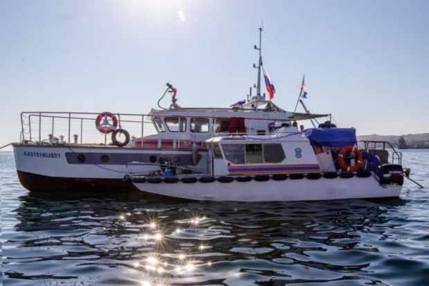 В Крыму продолжается разминирование затонувшего в годы Великой Отечественной войны теплохода «Жан Жорес»