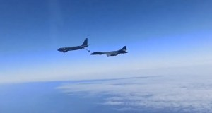 Российские истребители сопроводили над Черным морем бомбардировщики США