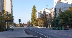 В Севастополе завершен капитальный ремонт дороги на улице Колобова