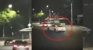В центре Симферополя задержали водителя-«дрифтера» - грубо нарушал ПДД