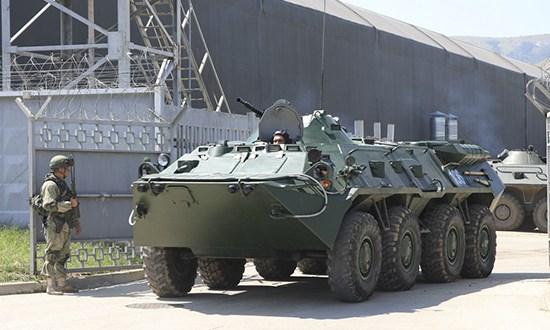 Соединение береговой обороны армейского корпуса Черноморского флота поднято по сигналу «тревога»