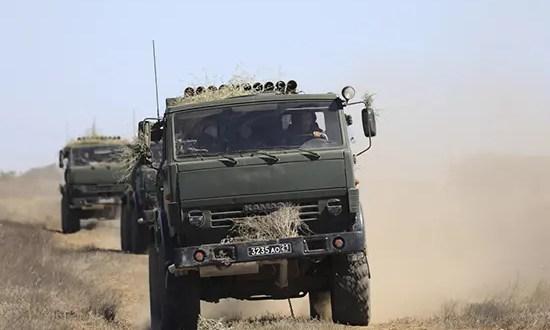 Подразделения морской пехоты Черноморского флота отразили нападение «диверсионной группы»