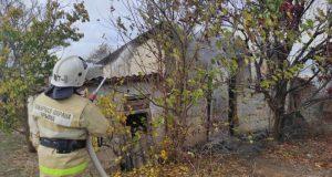 Пожар в Раздольненском районе и еще 7 пожаров минувших суток в Крыму