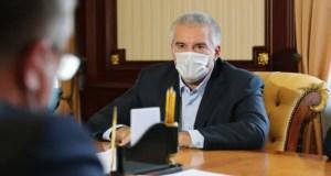«Удалёнка», ПЦР-тесты, проверки QR-кодов, новые пункты вакцинации в Крыму. Очередные поручения Аксёнова