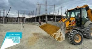 Как идет строительство школы в селе Трехпрудное Симферопольского района