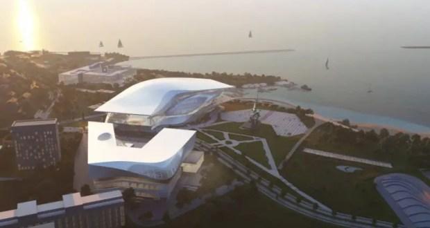 В Севастополе представили проект музейного комплекса на мысе Хрустальный