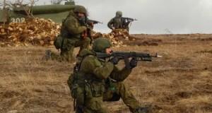 Подразделения Черноморского флота учились предотвращать нападение на колонну военной техники