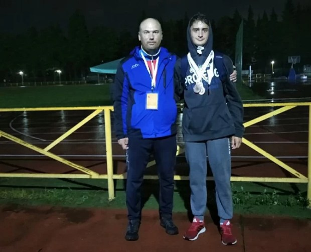 У Максима Топтуненко - три медали Всероссийских соревнований в Сочи