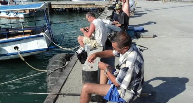 С 1 ноября в акватории ялтинского порта и вдоль набережной вводят запрет на ловлю рыбы