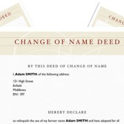 Deed Poll Template – Change Your Name Instantly!