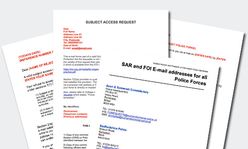 Find Out What Info the Police Have On You with These Subject Access Request Letters