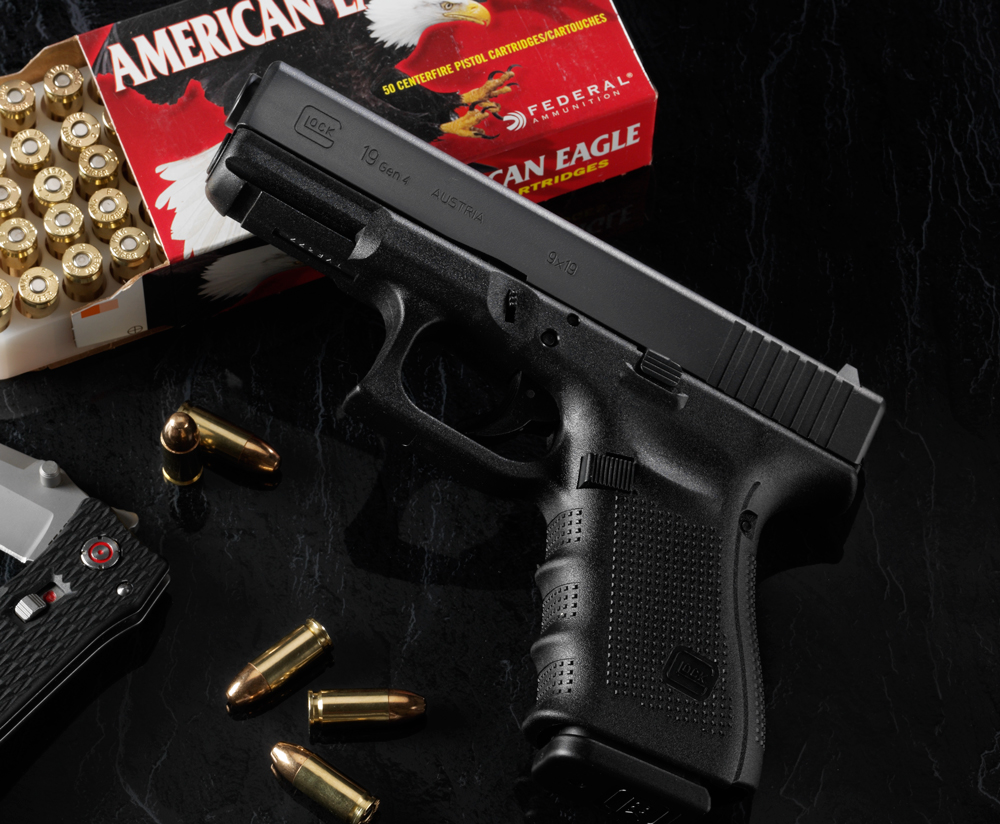 medium resolution of glock semi automatic pistols are some of the most popular handguns in the world which makes them easy picks for assigning to all sorts of characters
