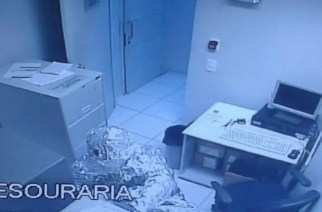 Bank robbers wear aluminum, because… they're idiots