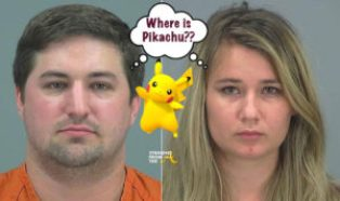 Arizona couple leaves two year old home alone to play Pokemon Go and gets busted