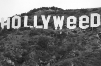 Hollywood Sign Gets High On New Year's Eve