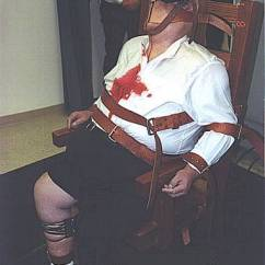 Death By Electric Chair Video How To Tie A Person The Execution Photos Crime Magazine Allen Lee Davis Photo