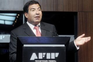 El titular de la AFIP habló de la denuncia en una rueda de prensa.