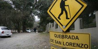 Las dos jóvenes fueron asesinados en la Quebrada de San Lorenzo.