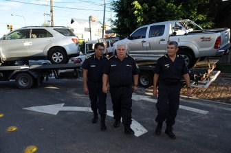 El jefe de Policía informó sobre el funcionamiento de la banda.
