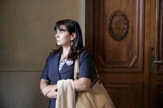 Susana Trimarco dijo estar conforme con la sentencia.