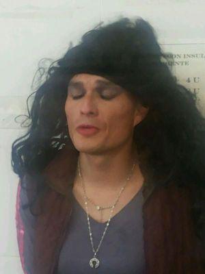 Morales se puso una peluca en la frustrada fuga.