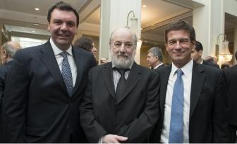 Los jueces federales Lijo, Bonadio y Ercolini.