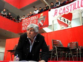 Moyano asumió hace un año en Independiente.